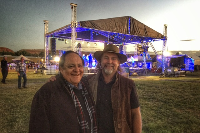 Pictured: Rev. Bill Newman with Steve at the Reality 2016 Alice Springs event.