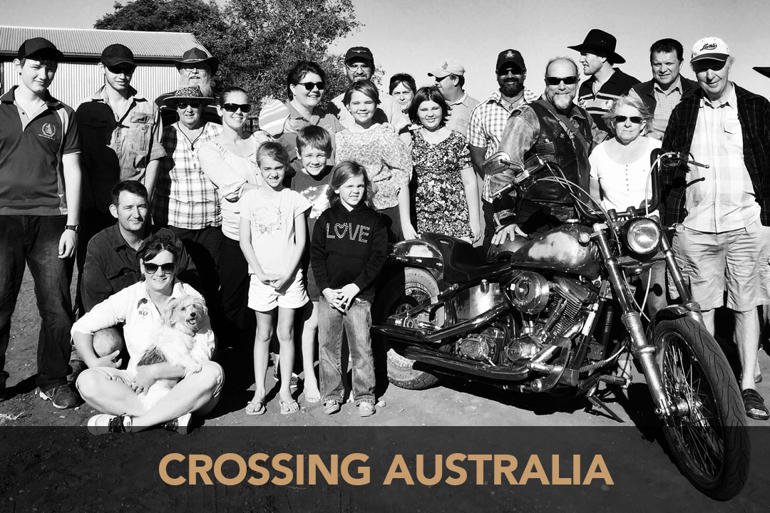 Pictured: Steve with a gathering of Baptist Pastors and their families out at Brendellan near Aramac, QLD back in 2015.