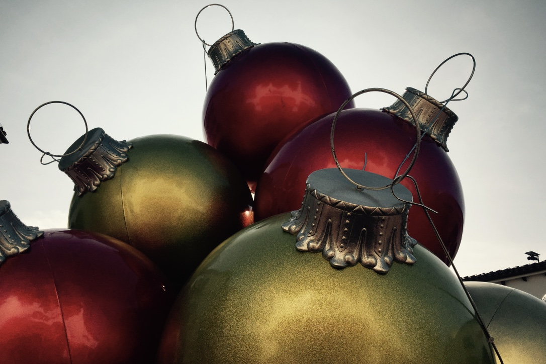 The colourful ornaments of Christmas