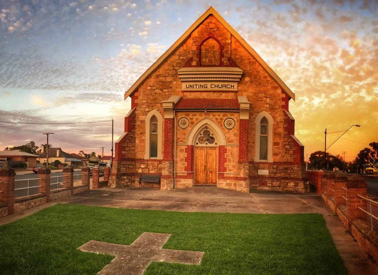 Pictured: The historic Methodist Church in Balaclava. Built with faith and purpose to proclaim the Good News of Christ.
