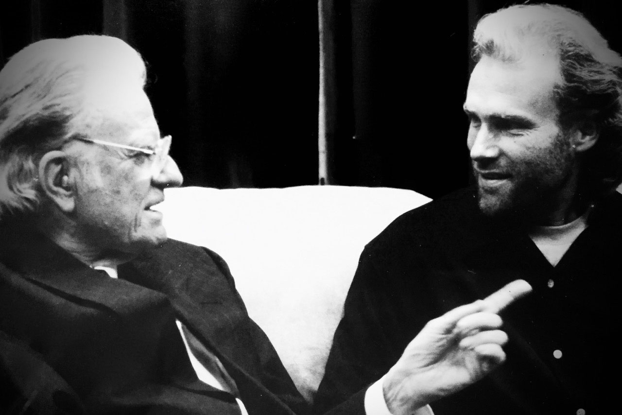 Pictured: An opportunity to meet Billy Graham in 1998.