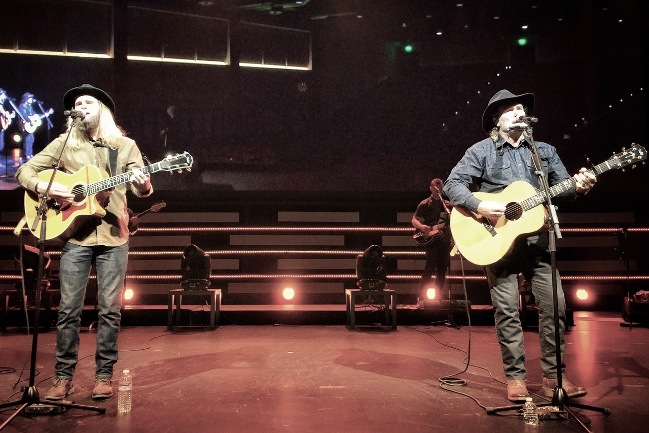 Pictured: Jordan and Steve leading worship at Water of Life Church in Fontana, California