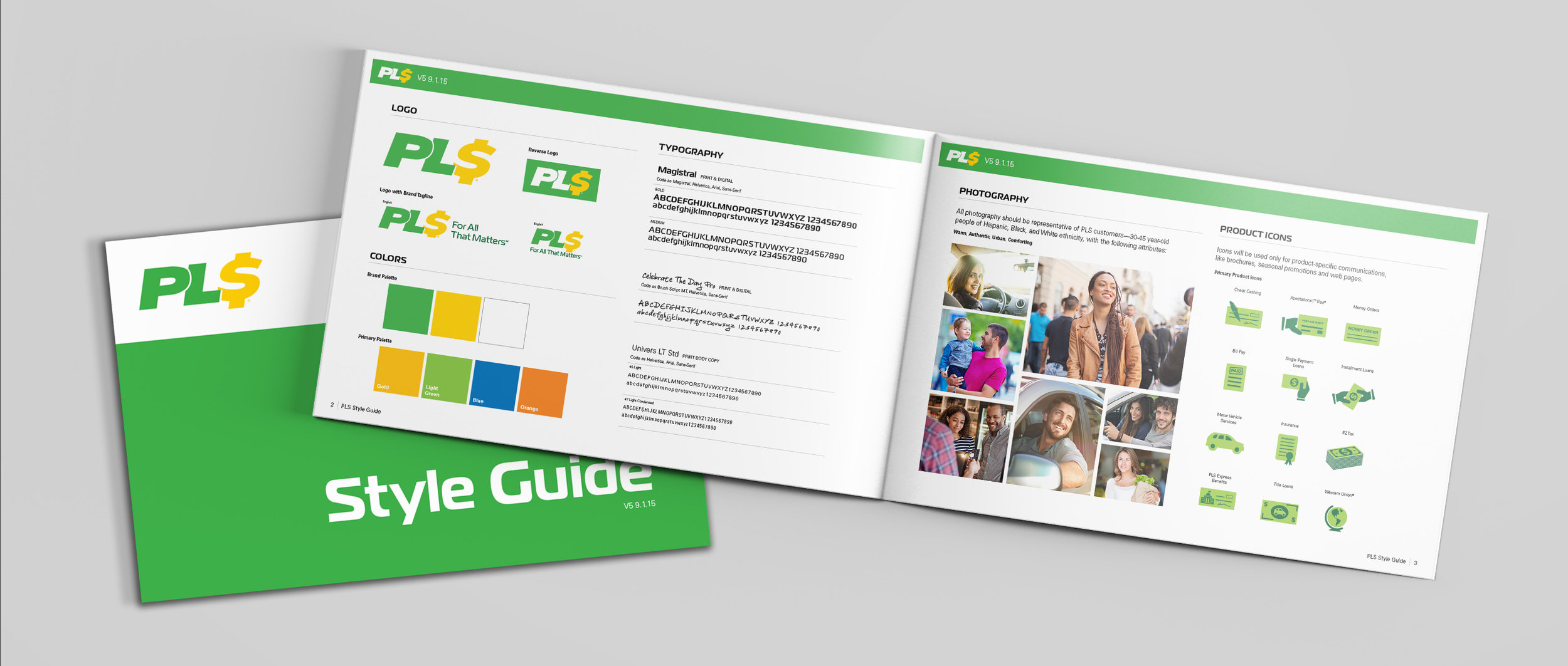 PLS Brand Guidelines: How do you build brand consistency at every touch point—from advertising, to the web, retail, and beyond? Through comprehensive brand guidelines from HERO