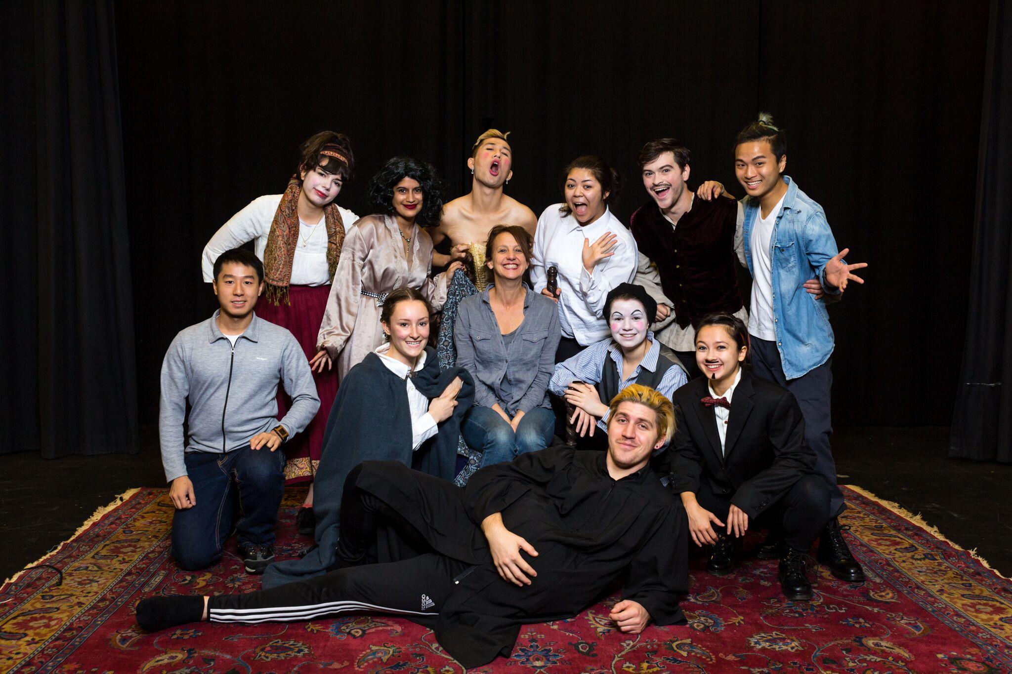 Romeo & Juliet Uncensored: a devised Commedia Dell Arte piece