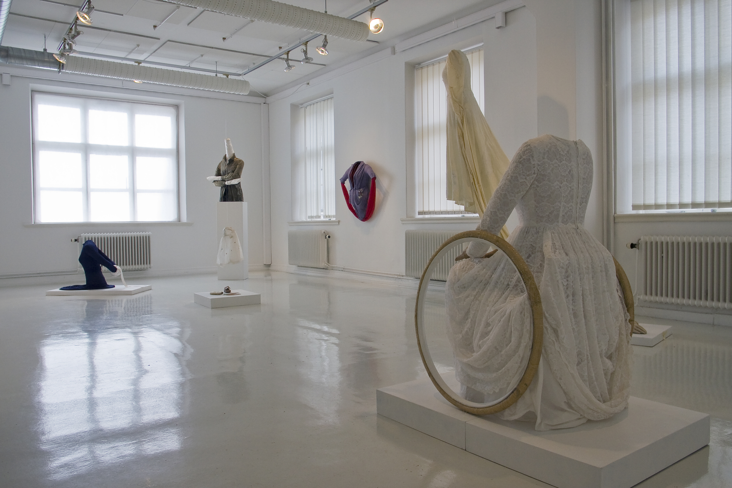 Utställningsvy Monica Strandbergs galleri