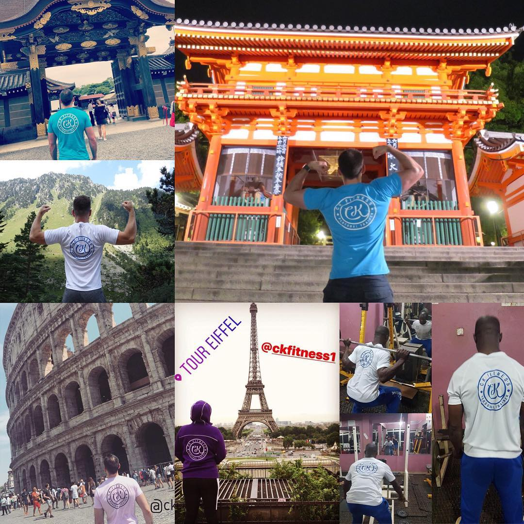 CK Fitness all over the world