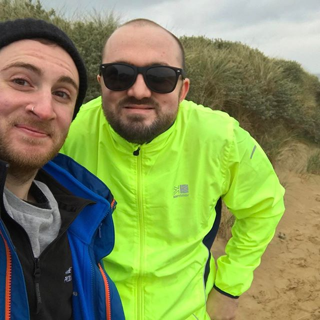 Great day yesterday, filming down at Camber Sands, getting B-roll footage for the mental Health Awareness video!