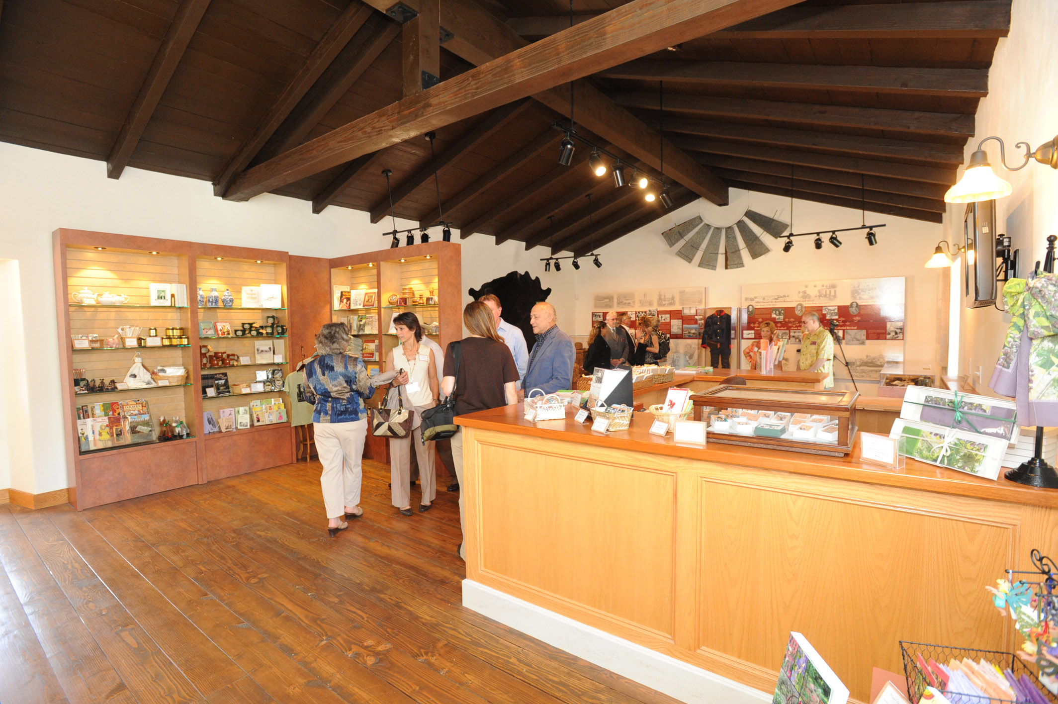 Rancho Los Cerritos Historic Site has guided tours, special events and more.