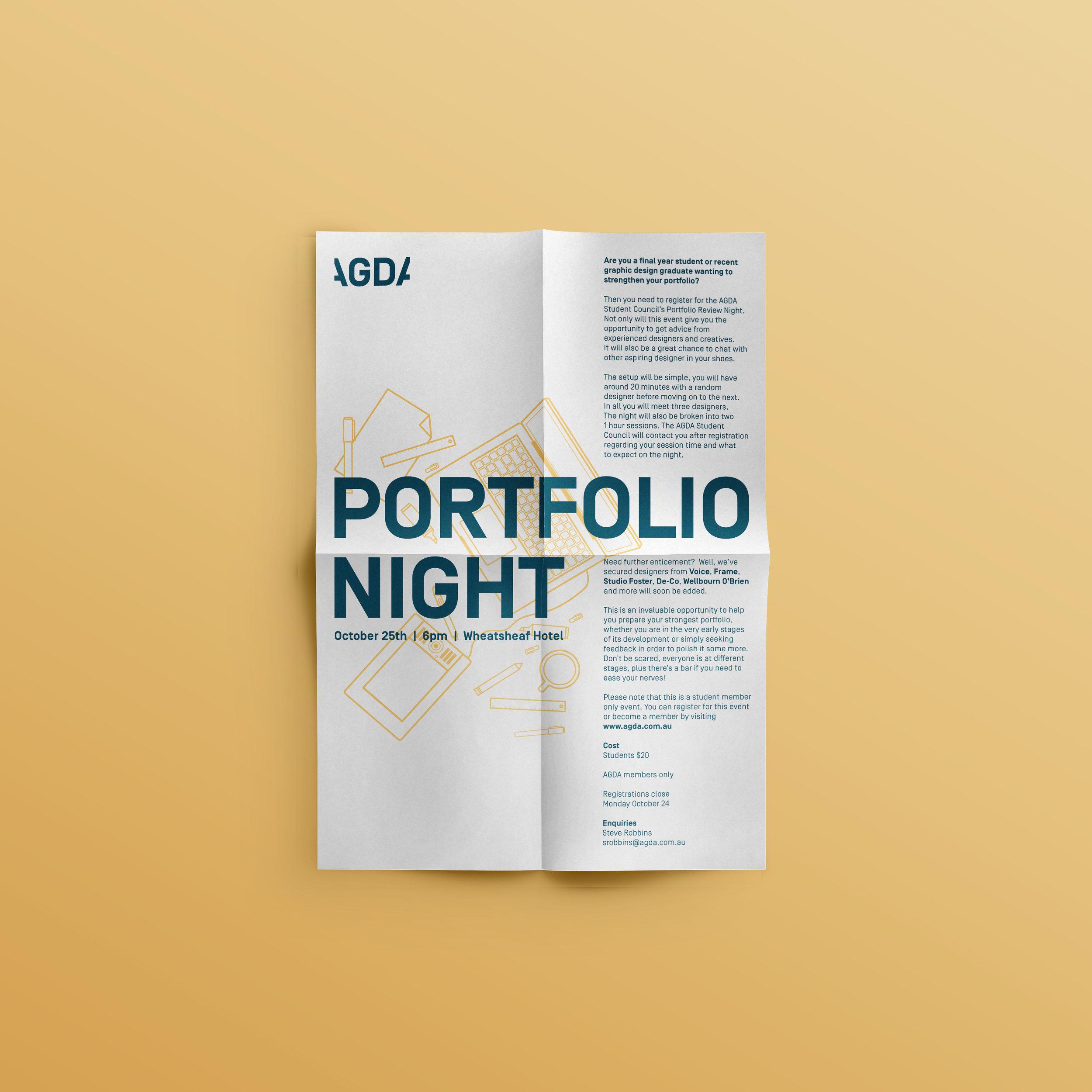 portfolionightposter
