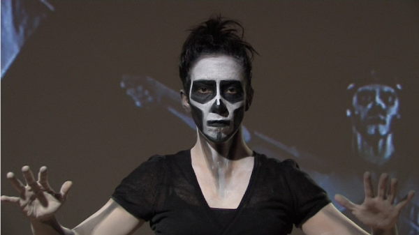 ESPIRAL , 2010/13 (video still; dancer: AMANDA PIÑA, camera: REINHARD MAYR)