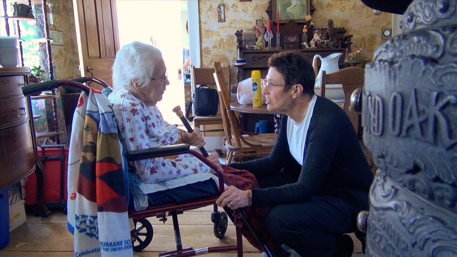 """The """"At-home Eldery"""" a special challenge for caregivers."""
