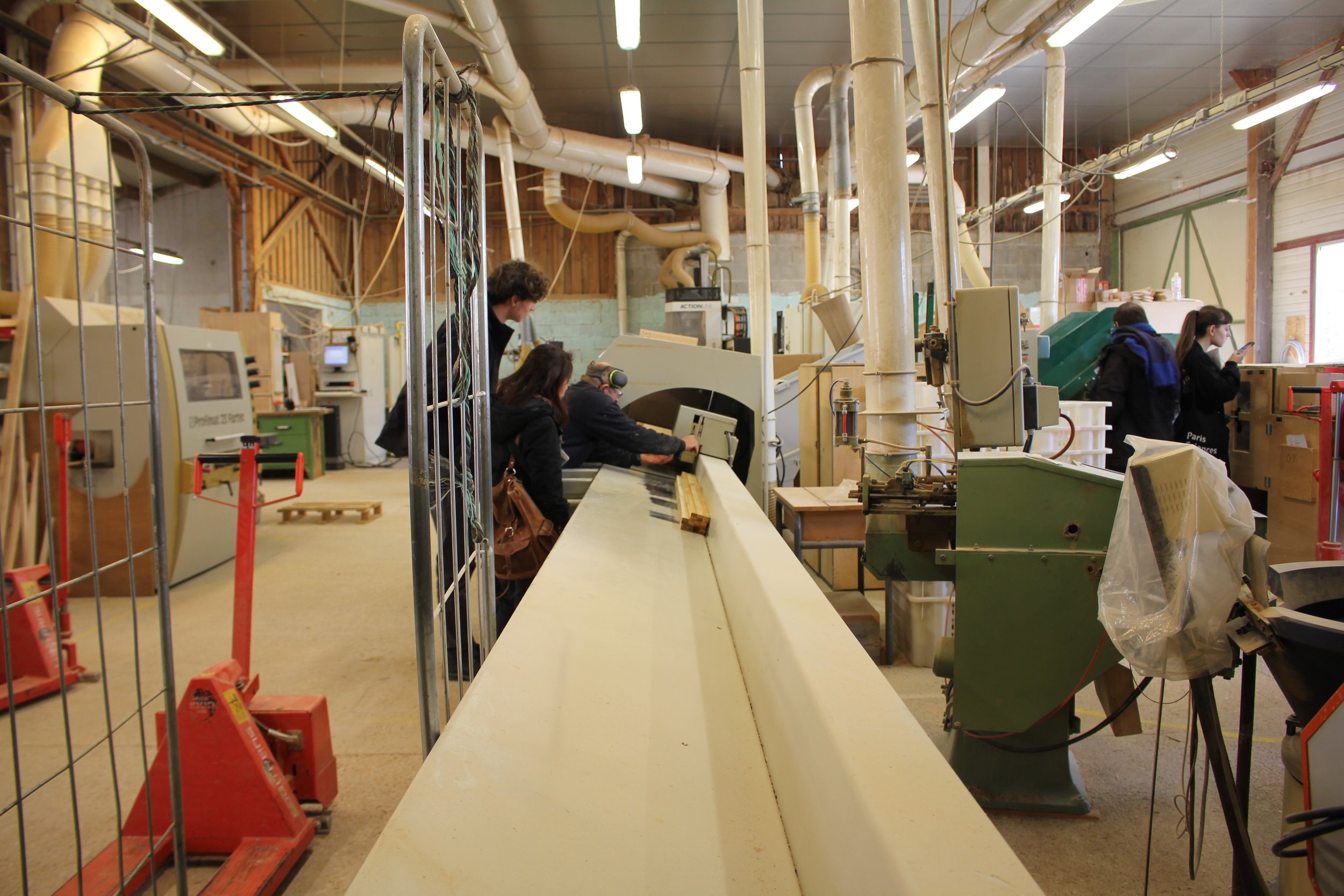 Collaborating with a local sustainable wood factory