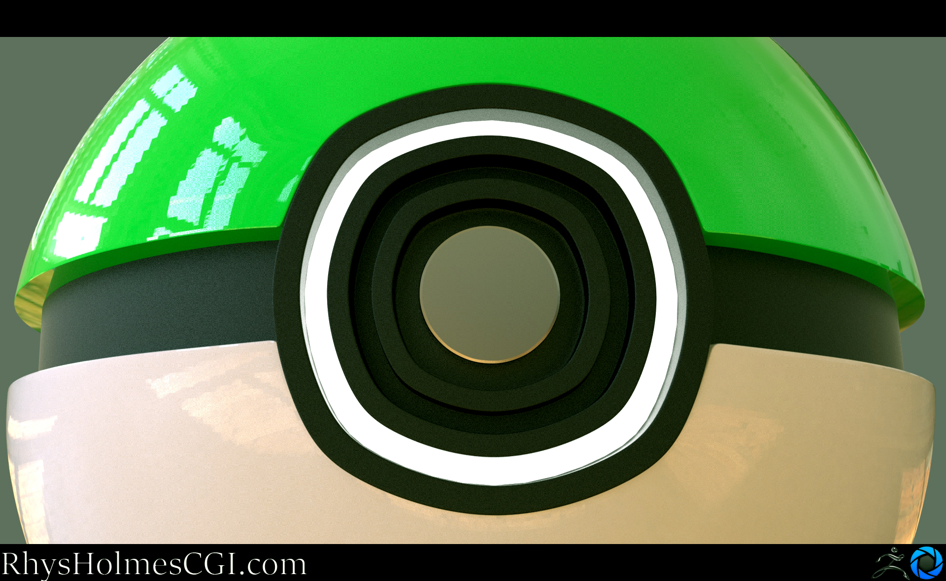 Model 2_Pokeball-Green_LED On_close up_With template.jpg