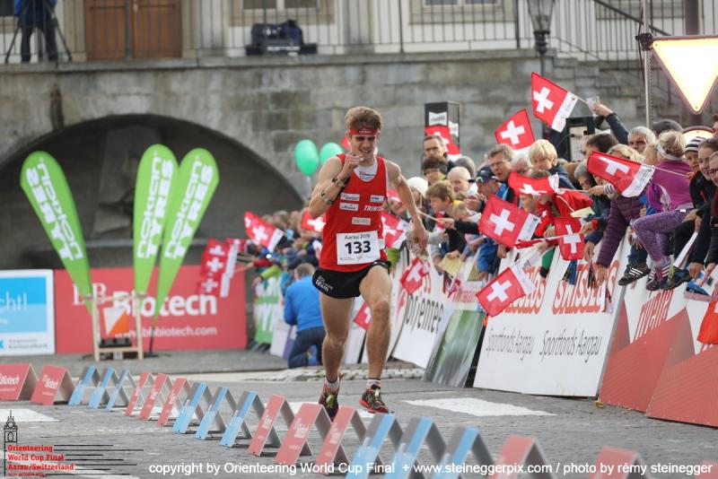 Unterwegs zum 5. Rang im Sprint beim letzjährigen Weltcup-Final in Aarau. Foto: Rémy Steinegger