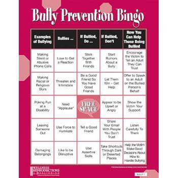 bullying bingo