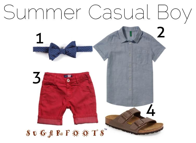 summer casual boy