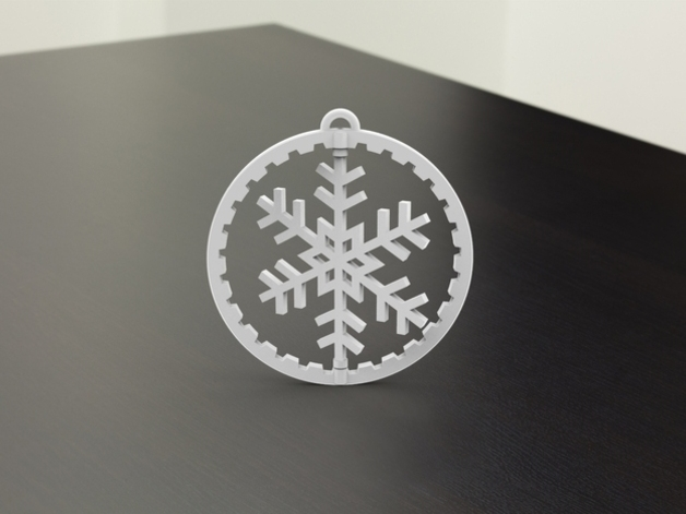 """Source: Thingiverse - """"Moving Christmas Tree Ornament"""" by DRDANIELJTHOMAS"""