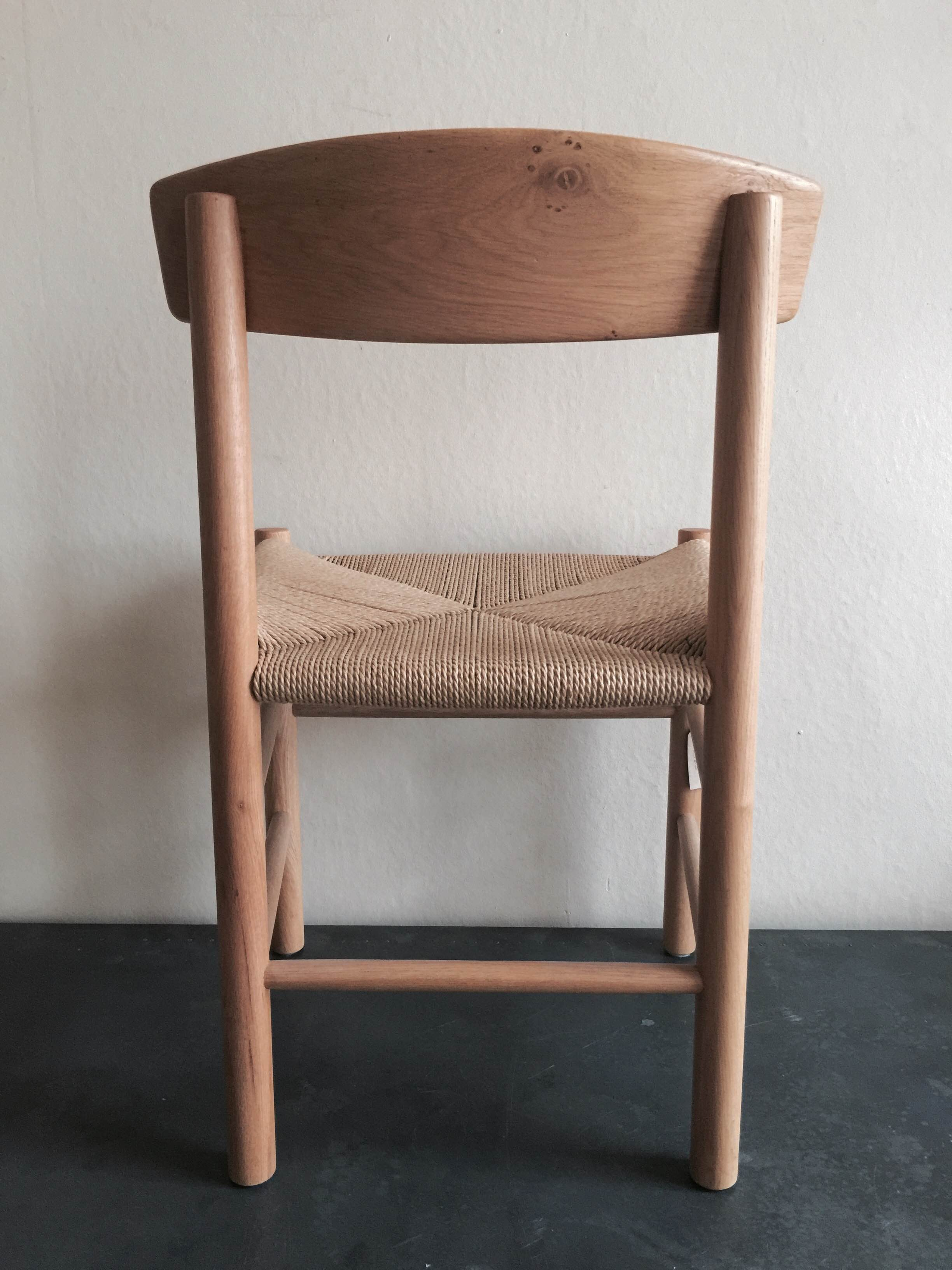 Oak Chair with Jute Seat £165 (back).JPG