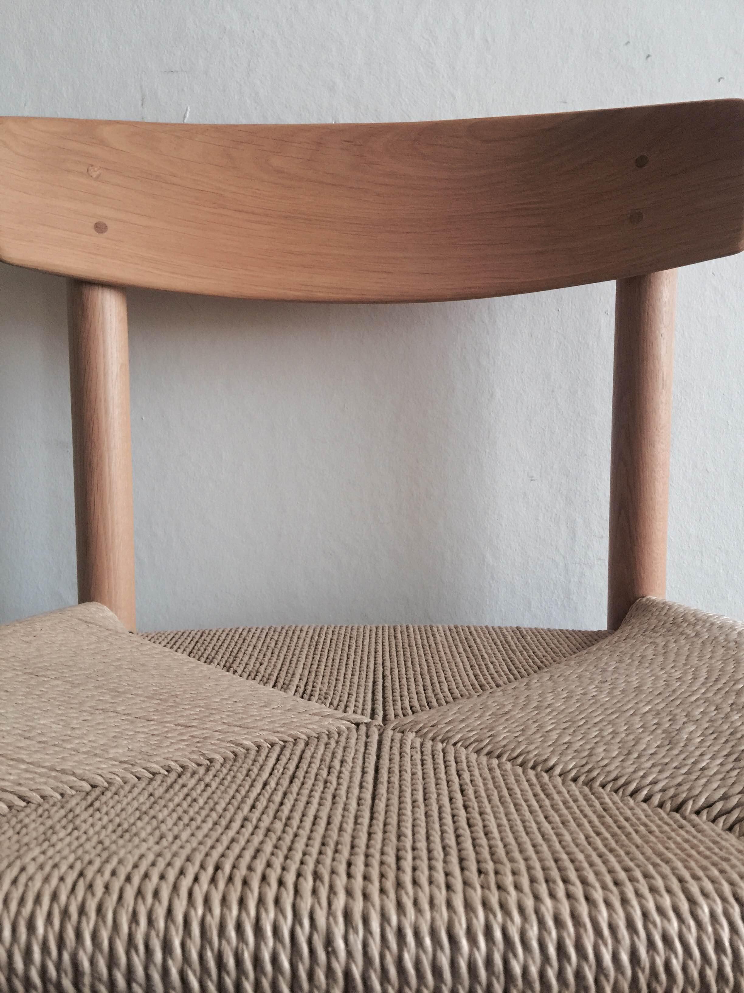 Oak Chair with Jute Seat £165 (details 3).JPG