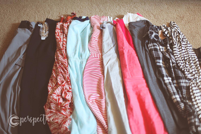 10 dresses... yes I said 10!
