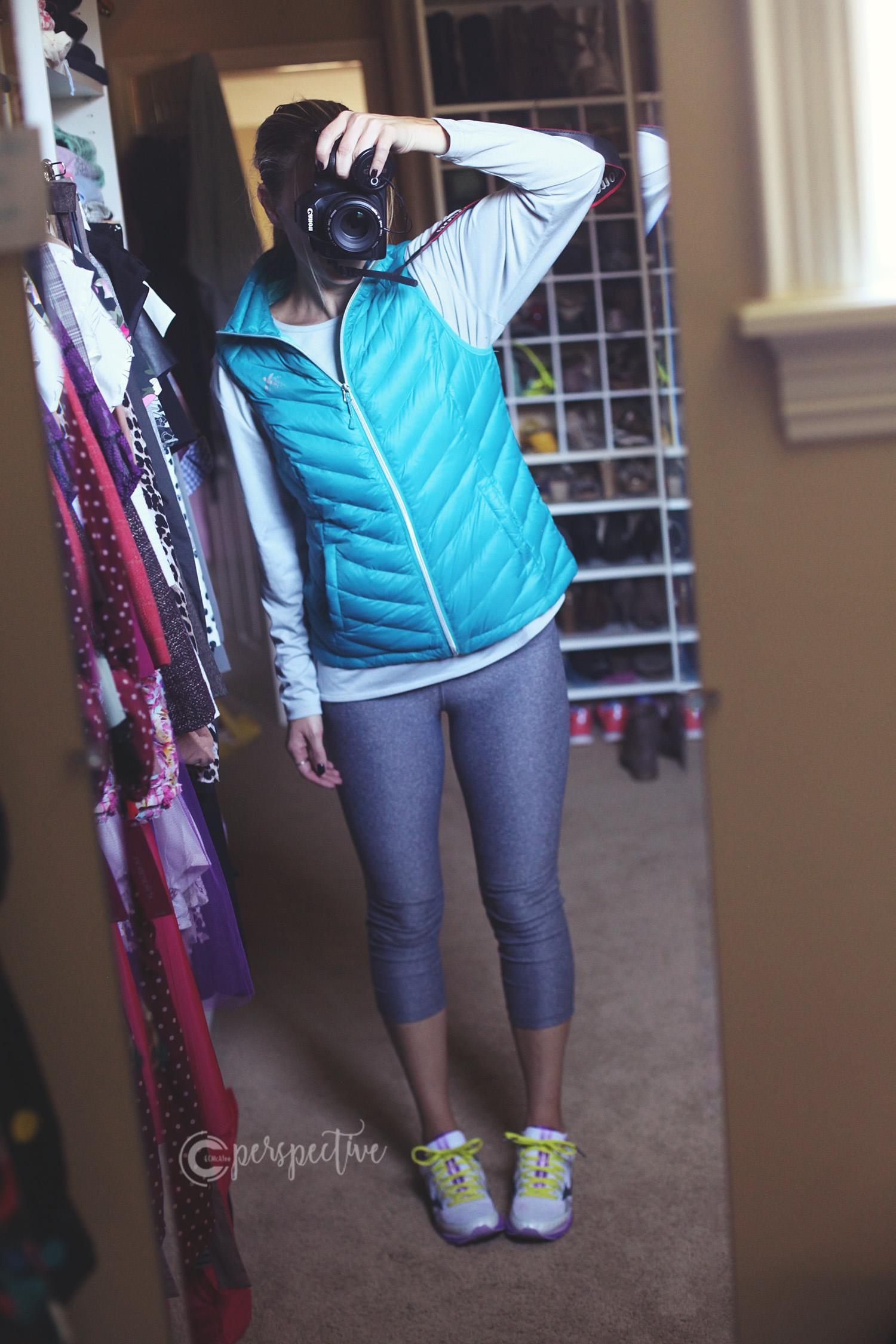layering, vest, cute athletic wear, athleisure