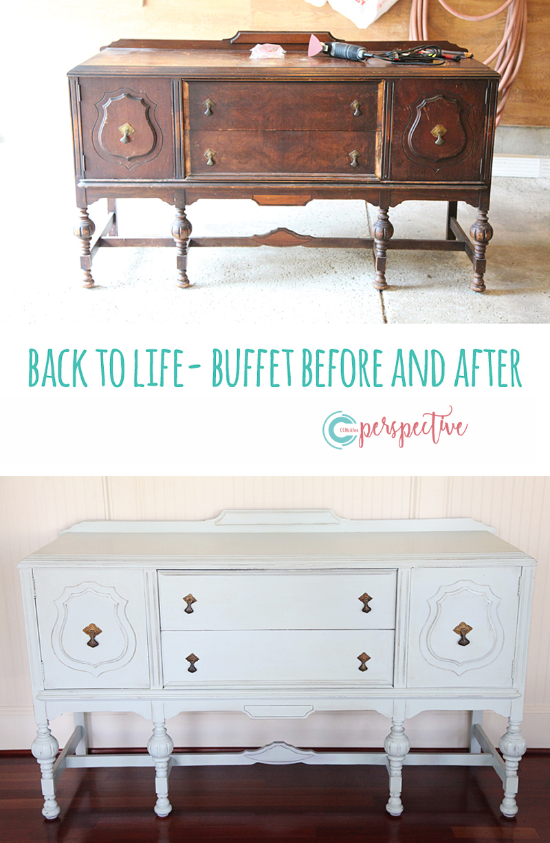 buffet before and after