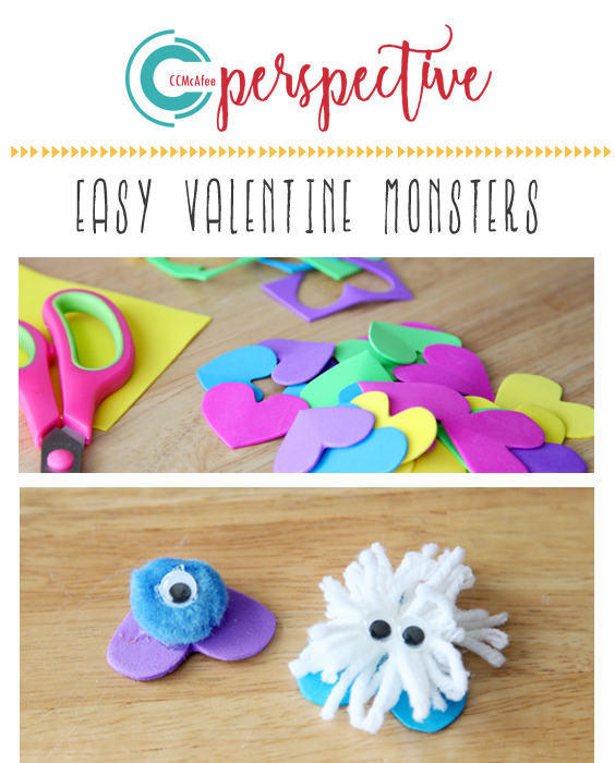 easy valentine classroom craft