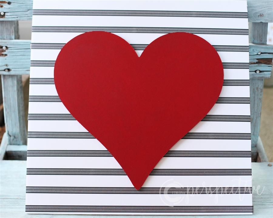 valentine decor washi tape