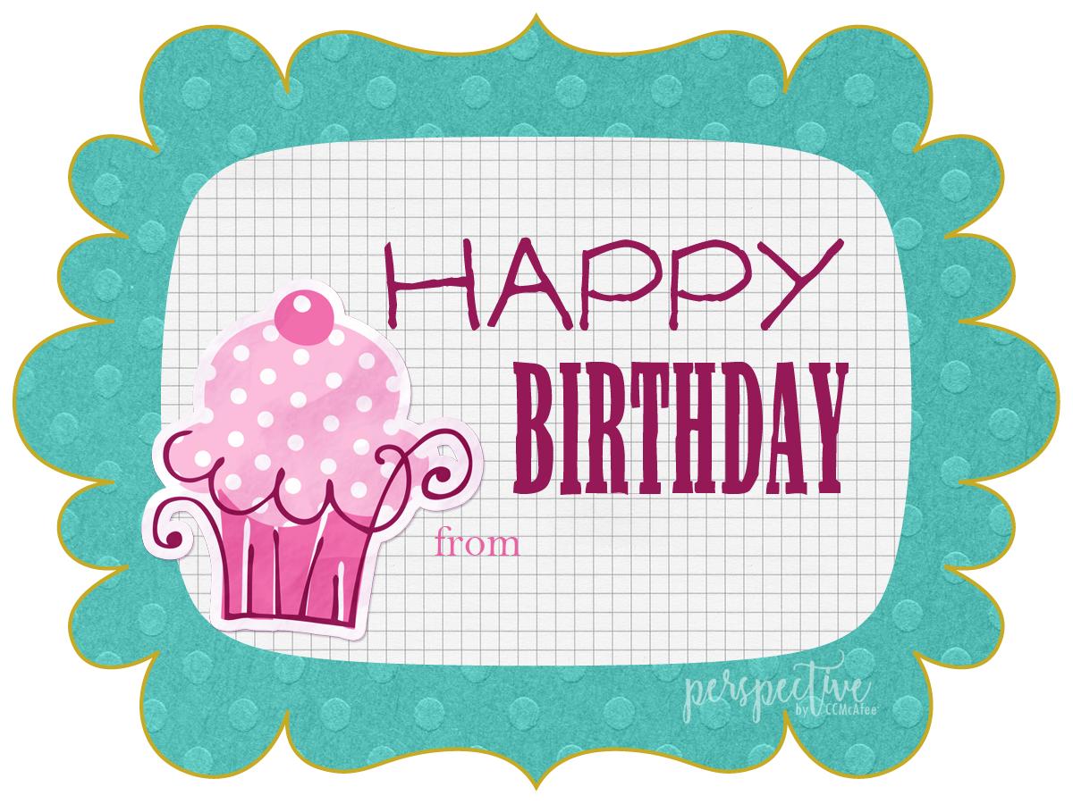 free printable birthday tags girl