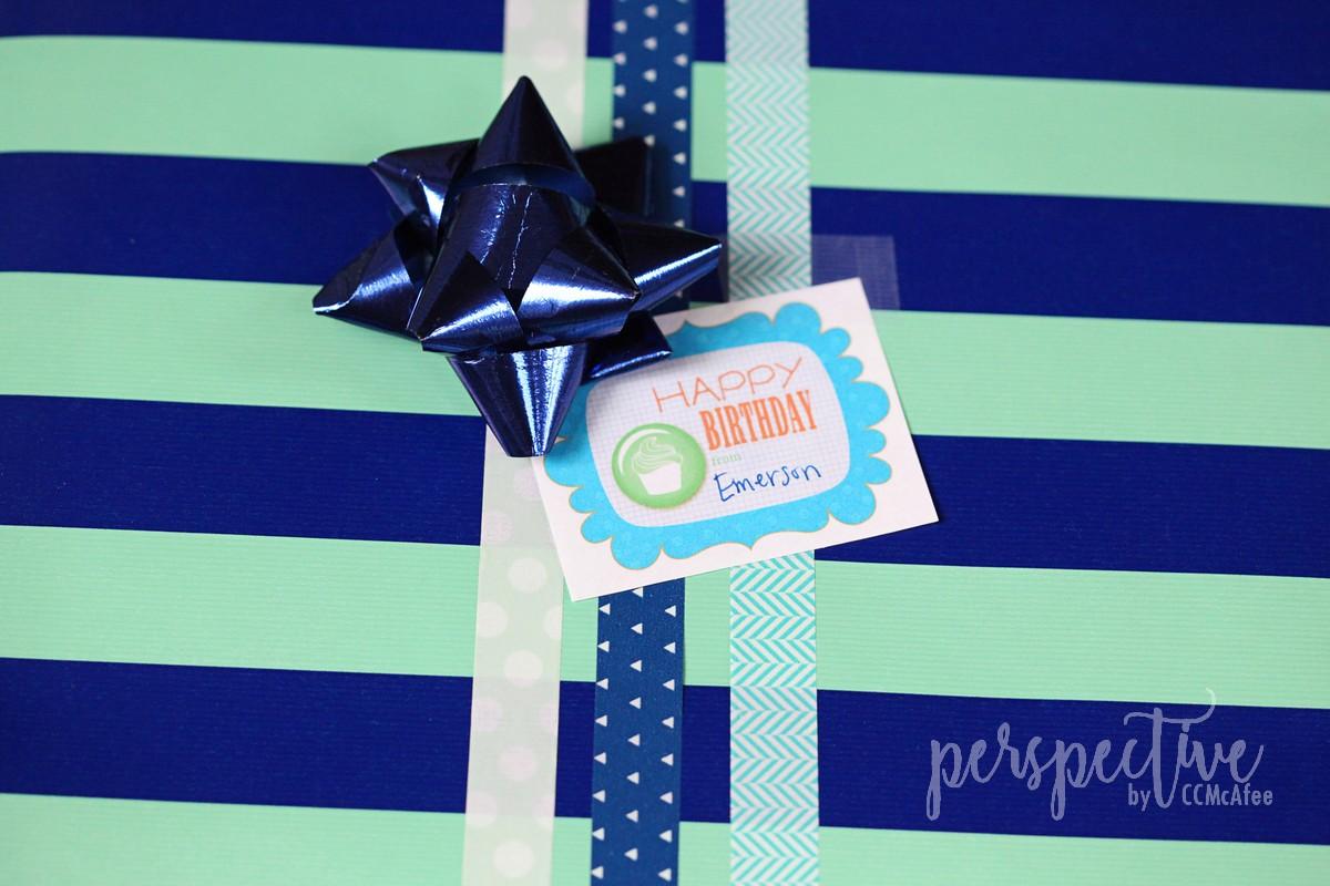 creative birthday wrapping