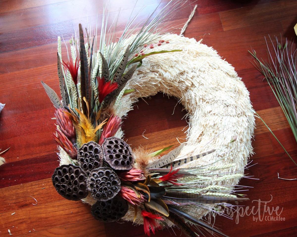 fall naturals wreath