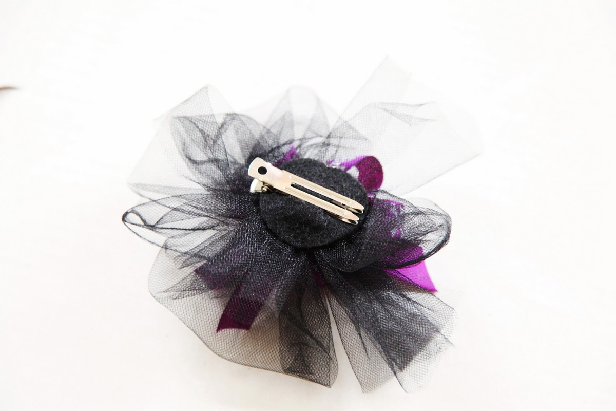 halloween hair clip