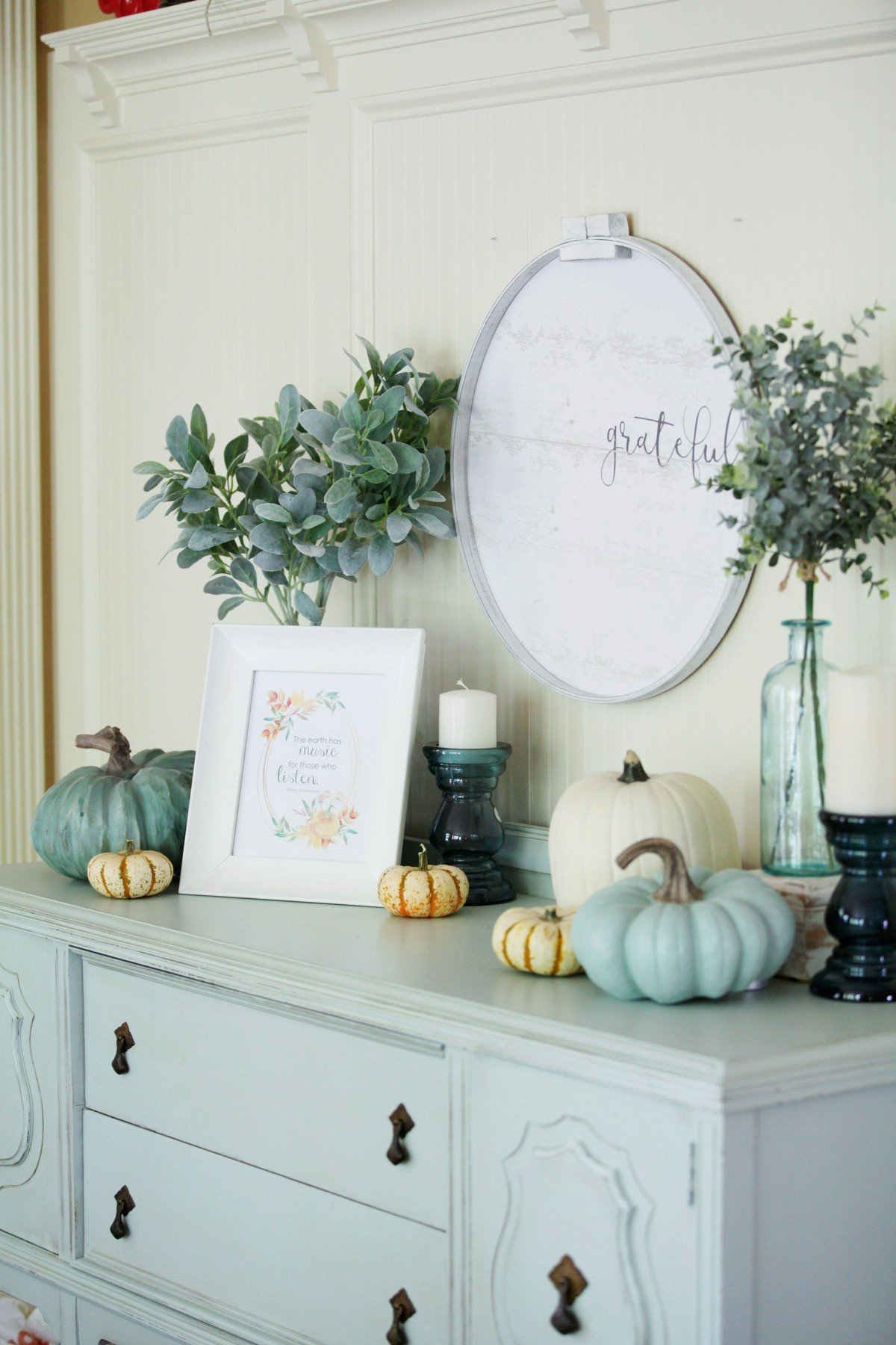 kitchen fall decor