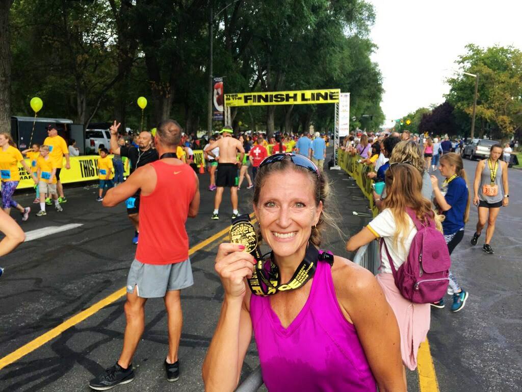 half marathon racing