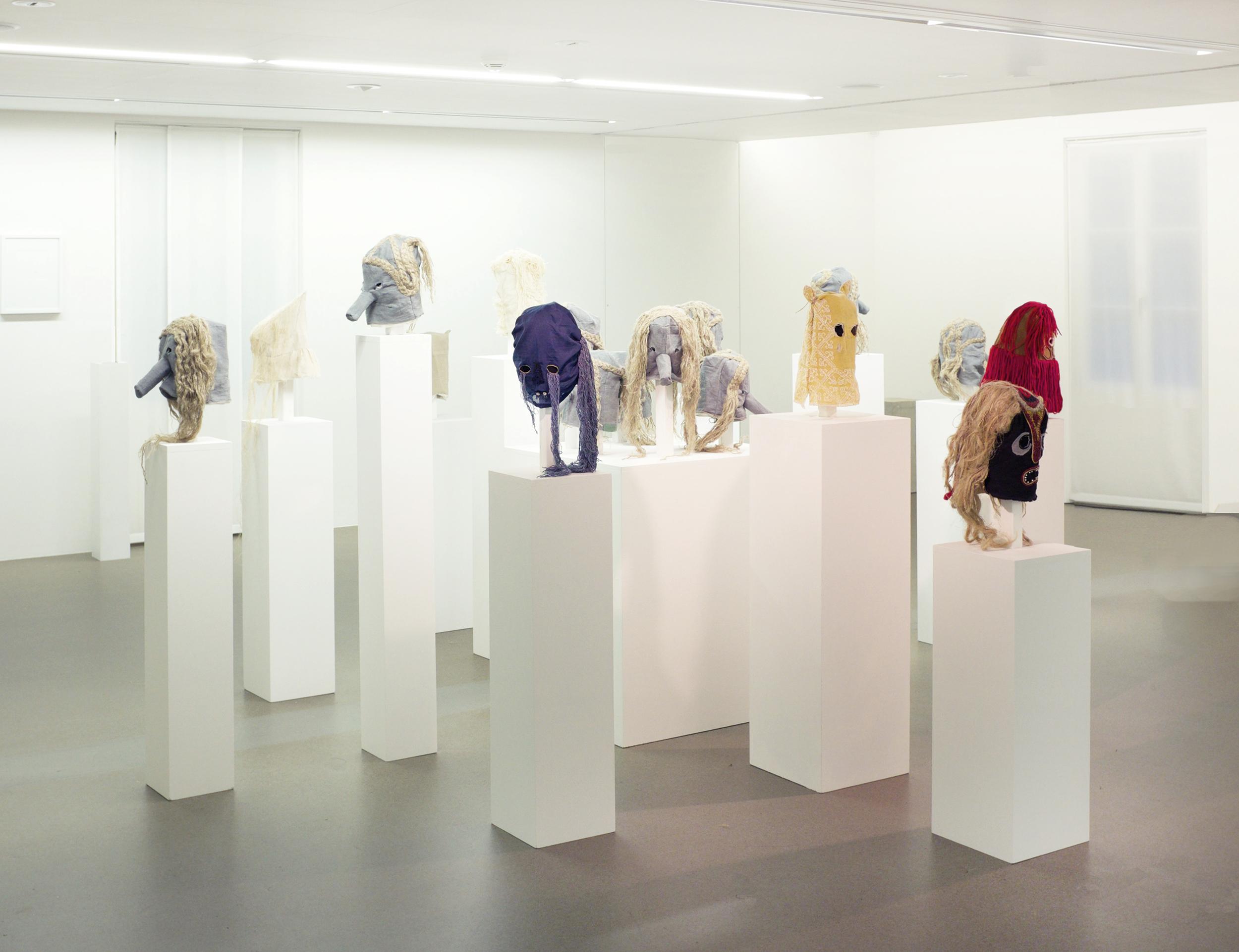 Apotropäen / 2015 Exhibitionview Haus für Kunst Uri
