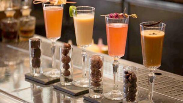 The Botanist: chocolate & cocktail pairings