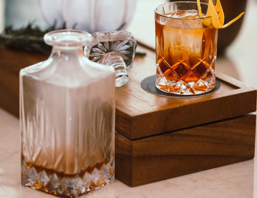 cut glass rum