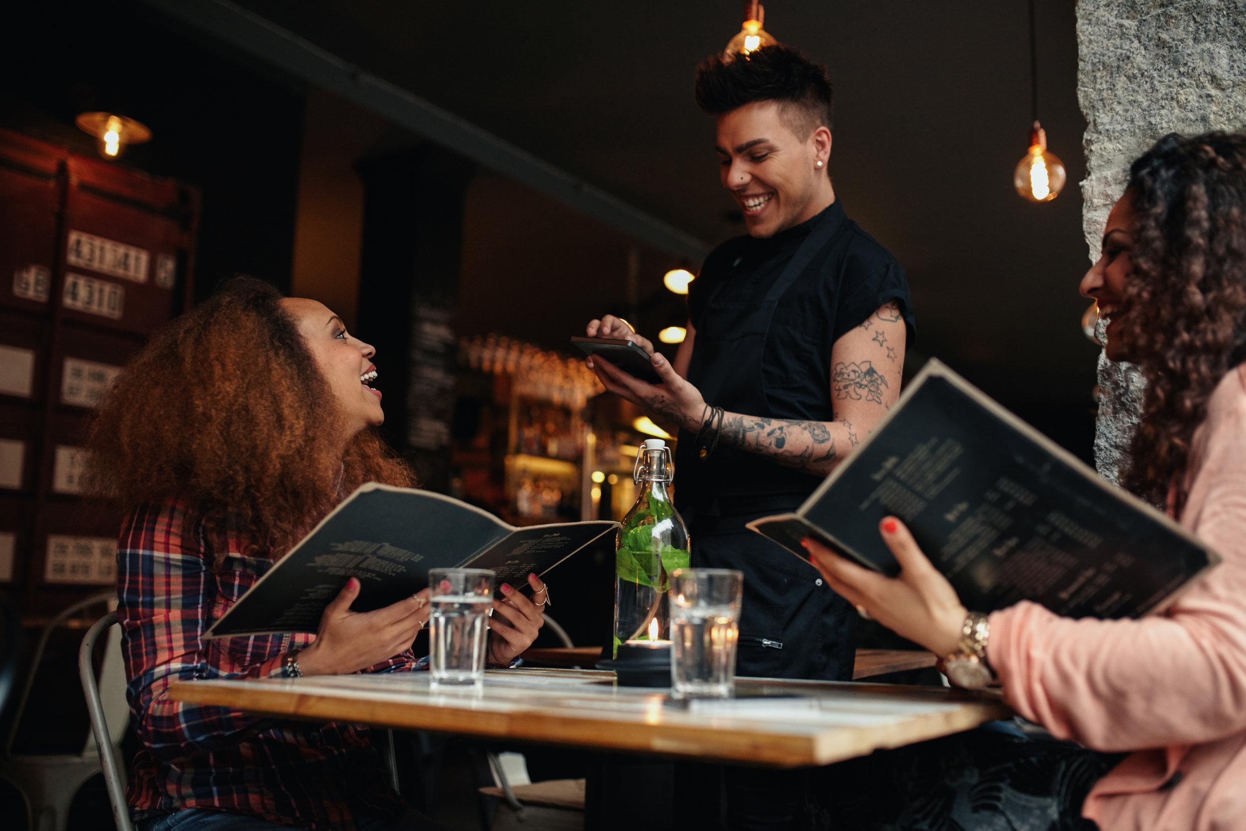 customising menus