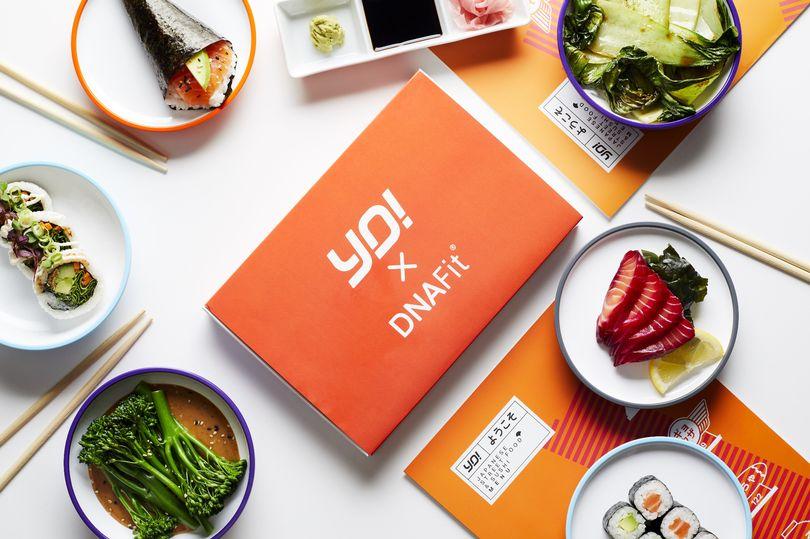 YO! Sushi X DNAFit