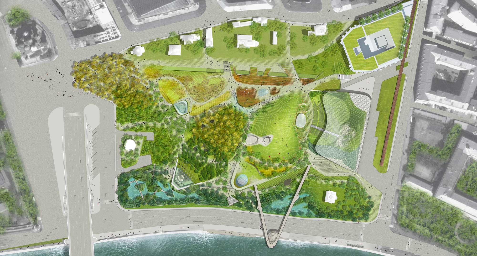 Zarydye park masterplan