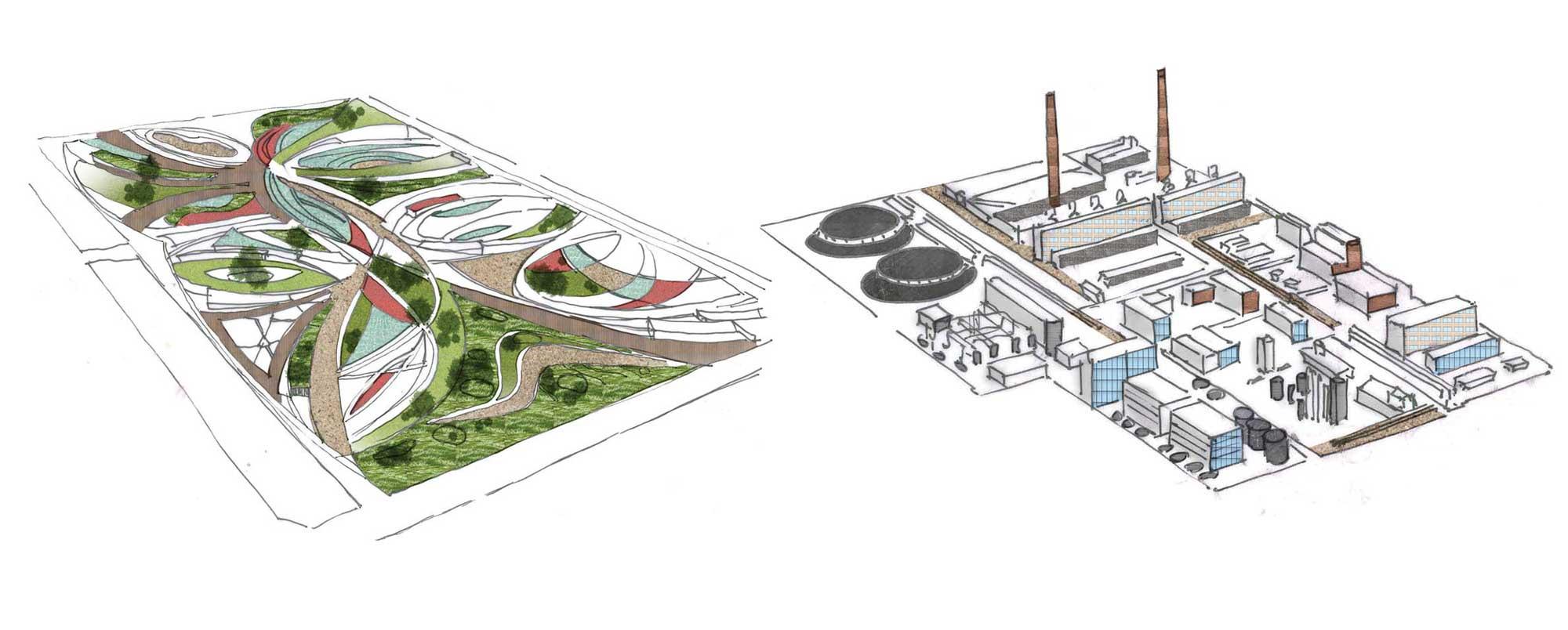 Zones description. Recreational zone | Industrial park