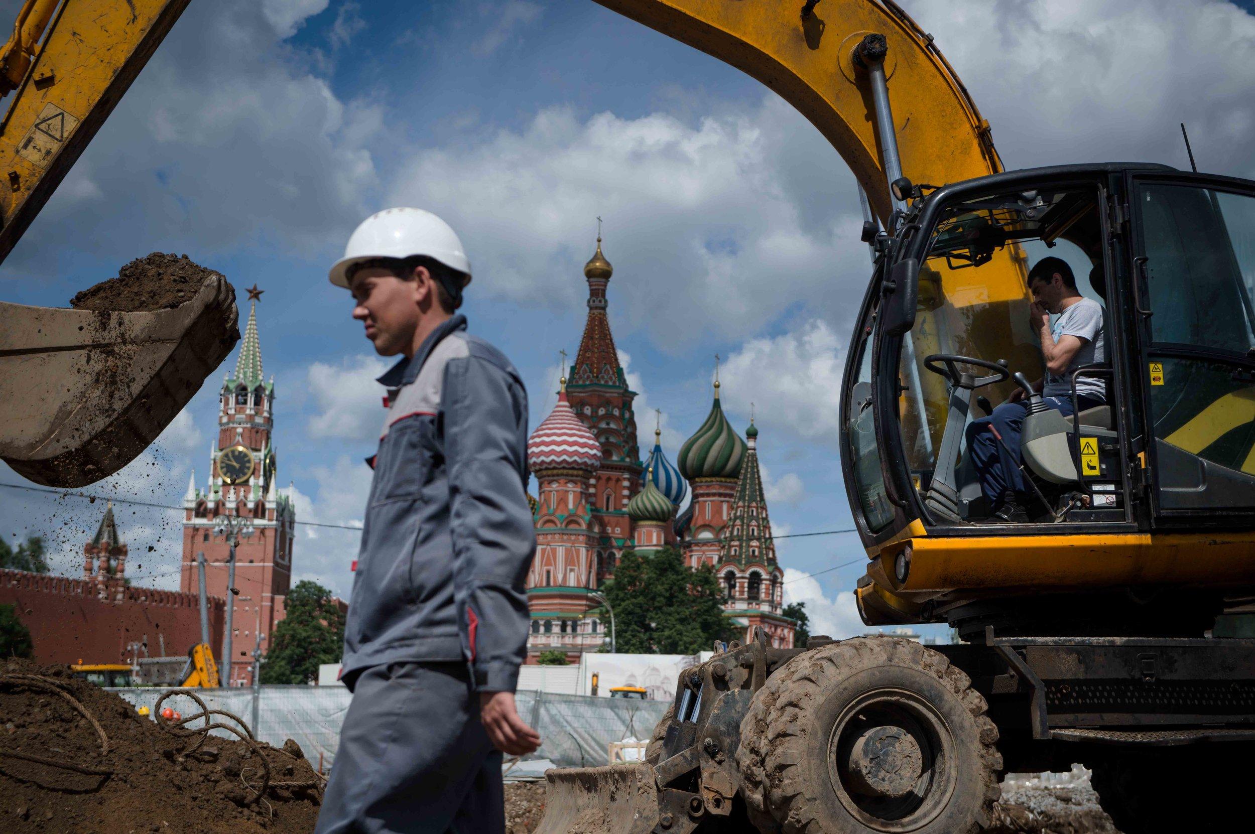 Construction process. May 2016