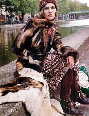 Vogue Japan.  Manuela Pavesi
