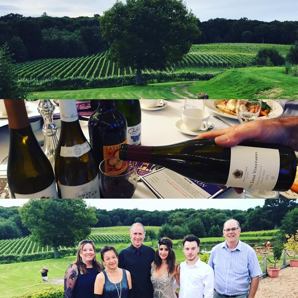 Bluebell vineyard team photo