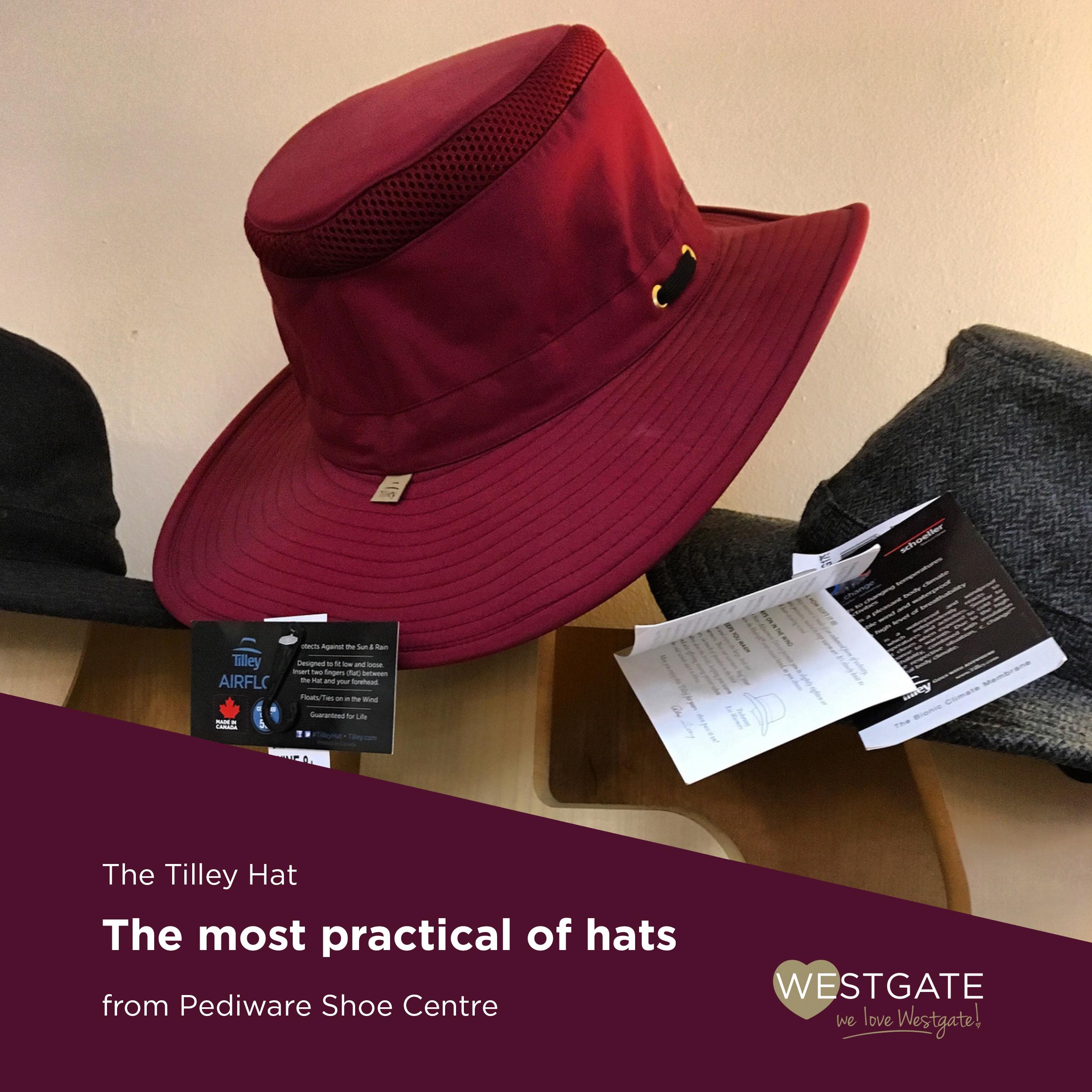 Tilley hat Pediware.jpg