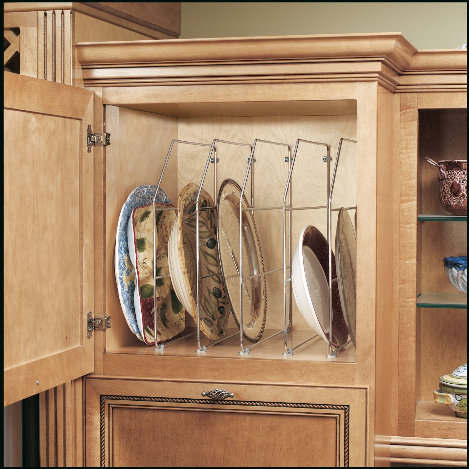 Rev-A-Shelf Chrome Bakeware and Tray Divider