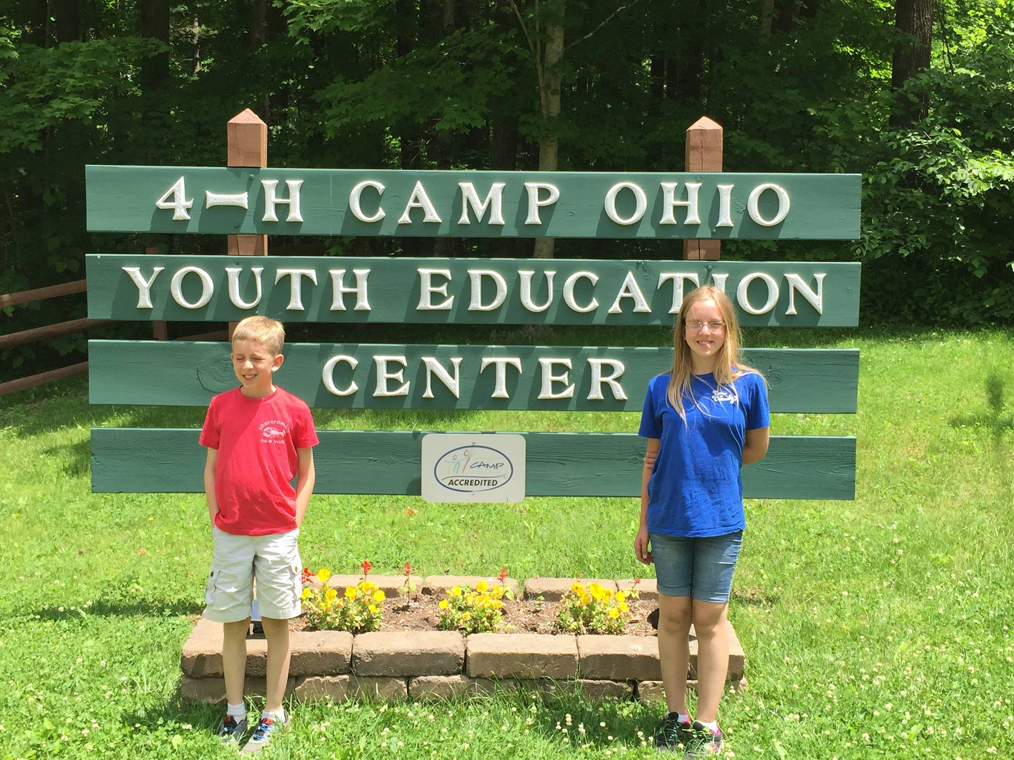This year, for the first time, all three of my kidders will be heading off to 4-H Camp Ohio together! And you know what? They are excited and confident they can happily survive for a week without mom and dad!