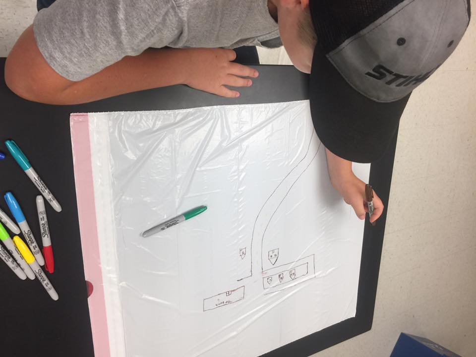 Garbage Bag Watershed is one of the new in-classroom educational programs Holmes SWCD will be offering for the 2017-18 school year.