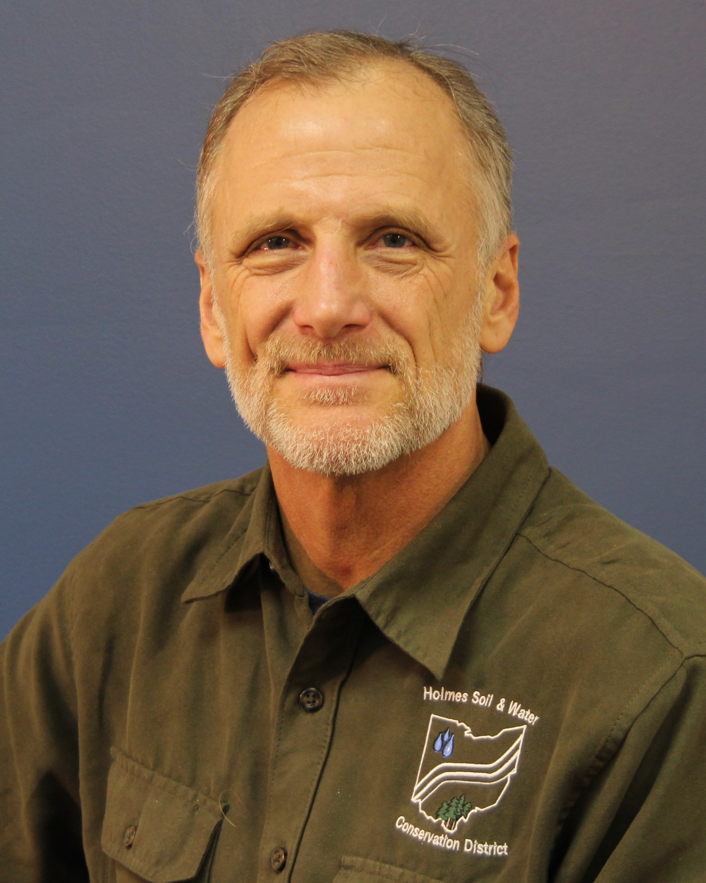 John Lorson, District Technician - John came to Holmes SWCD after leaving a career in higher education quite literally for greener pastures. He holds a BS in Biology from The University of Akron where he later worked for ten years—most recently as coordinator of the The University of Akron Millersburg Campus. Prior to that he spent 15 years as an engineering technician with the City of Orrville, dealing with storm water, infrastructure and planning issues. John can assist with conservation planning for your farm, rural property or woodlot. He also deals with storm water management issues, and investigates pollution complaints. Reach John with your conservation concerns at 330-674-2811 or email jlorson@co.holmes.oh.us