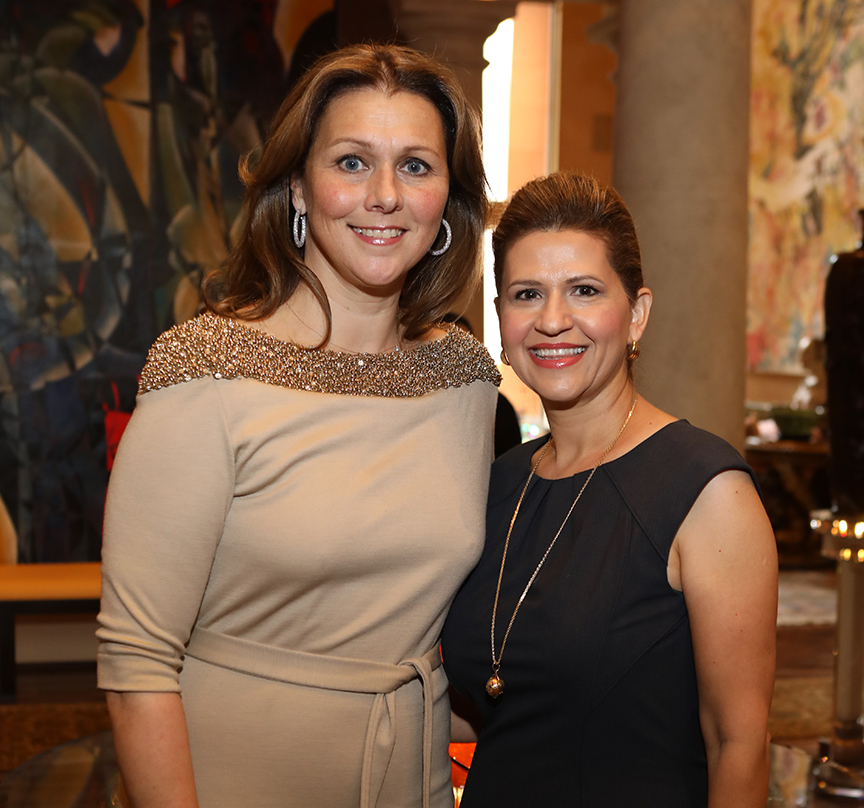 Donatella Benckenstein and Mehrnaz Gill, Ladies for Literacy Co-Vice Presidents of Membership